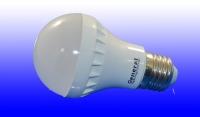 Лампа светодиодная General E27 7Вт шар 2700К эконом РАСПРОДАЖА!