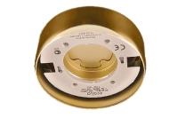 Светильник Ecola GX70 накладной G16 золото