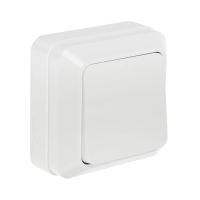 Выключатель 1-кл белый накл. 7021 BOLLETO InHome