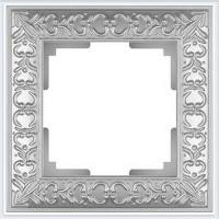 WERKEL ANTIK Рамка на 1 пост (жемчужный) WL07-Frame-01