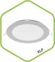 Св-к LED RLP-eco 3Вт 4000К 240Лм 90/75мм IP40, IN HOME