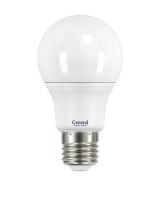 Лампа светодиодная General E27 9Вт шар 6500К 700Лм